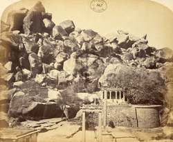 Interior of Fort with temples, Chitradurga